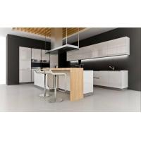 Quality Modern Noble White Acrylic Kitchen Cabinets for sale
