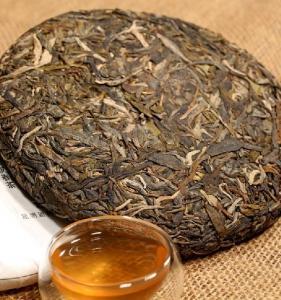 Wholesale Flavored Raw Pu Erh Cake Tea Sheng Puerh Tea From Yunnan, AAA Class from china suppliers