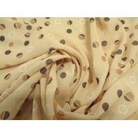 China Small Dot Chiffon Fabrics Georgette Fabric on sale