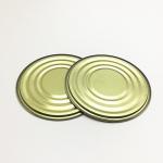China Small Circualr Metal Jar Lids , Metal Can Tops Aluminum Paste Lightweight for sale