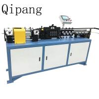 Wholesale A Chipless 3-16mm Steel Pipe Straightening Machine Rotary Wire Straightener from china suppliers