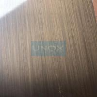Wholesale 304 Bronze Hairline Stainless Steel Plate-CopperHairline Bronze Stainless Steel Sheets from china suppliers
