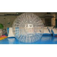 Wholesale Grass Rolling TPU Inflatable Zorb Ball , Inflatable Theme Park Zorb Hamster Ball from china suppliers