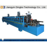 Wholesale Photovoltaic Solar Bracket Strut Channel Roll Forming Machine with Punching from china suppliers
