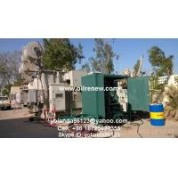 Mobile Transformer Oil Filter Plant | Long Distance Moving Vacuum Transformer for sale