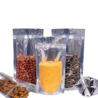 Wholesale Recycled One side clear aluminum foil printing pouch zip lock packaging bags from china suppliers