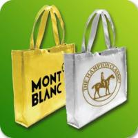 Wholesale Silver laser laminated non woven bags from china suppliers