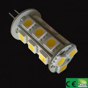 Wholesale Wholesale 18pcs led 5050smd high quality high Lumen G4 LED 12V AC/DC 3.5W 360 degree g4 led light,Energy saving 90% from china suppliers