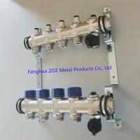 China Hydronic Manifold Floor Heating Manifolds , Hydronic Radiant Heating Systems for sale