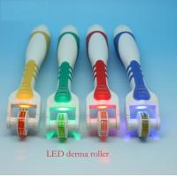 Wholesale 75 Needles Body Titanium LED Roller 1.0mm 1.5mm 2.0mm 2.5mm 3.0mm with Plastic handle from china suppliers