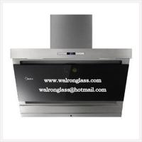 Wholesale Silk Screen Printing Glass with Black Color for Kitchen Range Hood from china suppliers