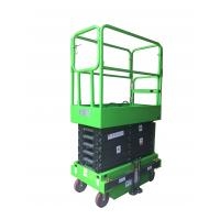 China Platform Height 6m Mobile Scissor Lift with Outriggers on sale