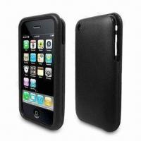 Wholesale Leather Case for iPhone 3G, OEM Orders are Welcome from china suppliers