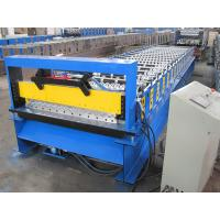 Joint Hidden Roof Panel Roll Forming Machine With 5 Nm Chrome Coated Shaft