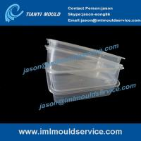 Wholesale Expertise in thin wall rectangular food container moulded products -250g from china suppliers