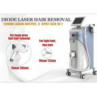 Wholesale 1200W Soprano Ice Diode Laser Hair Removal Machine 1-10Hz ROHS TUV from china suppliers