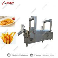 Wholesale French Fries Continuous Frying Machine|Commercial French Fries Fryer Equipment|French Fries Continuous Frying Machine from china suppliers