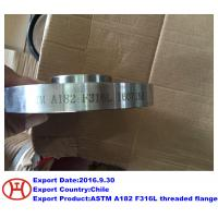 ASTM A182 F316L threaded flange