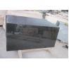 External Natural Large Stone Floor Tiles , Modern G684 Black Basalt Stone Tile for sale