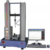 Buy cheap 100N Rubber Tensile Testing Machine , Electronic Tensile Tester AC220V 5A from wholesalers