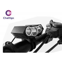 Wholesale Waterproof Flashing LED Bike Lights X3 USB Charging Off - Road Bicycle Front from china suppliers