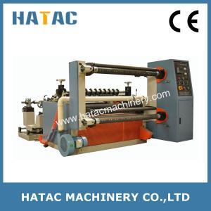 China Plastic Film Slitting Machinery,Auto Aluminum Foil Strips Slitter Machine on sale