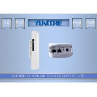 China PTP 5KM Distance 5.8 GHz Outdoor CPE , IEEE802.11A / N 5.8 Ghz Wireless Bridge / Repeater on sale