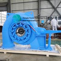 600 - 1000r/ Min Francis Turbine Generator Applicable To Head 20-700 Meters for sale