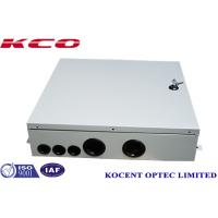 Wholesale Indoor FTTH FTTB Fiber Optic Terminal Box 4 Cable Ports Steel Tape Material KCO-ODB-48A from china suppliers