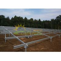 Wholesale Beautiful Appearance Solar Mounting Structure Time Saving Easy Installation from china suppliers