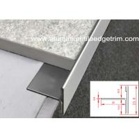 Wholesale T Shaped Stainless Steel Tile Trim EdgingNatural Color For Floor / Tile End from china suppliers