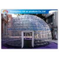 Hot Air - Sealed Igloo Dome Transparent Inflatable Lawn Tent Clear Bubble Tent