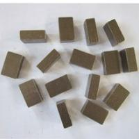 Buy cheap 1600mm diamond segments for sandstone from wholesalers
