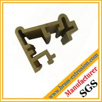 Wholesale window door frame brass copper extrusion profiles sections from china suppliers