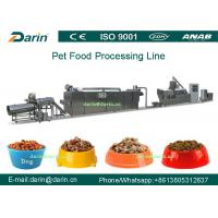 Best Dry Pet Food Processing Line Touch Screen Full Automatic SUS304 wholesale