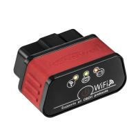 Red Wifi Car Diagnostic Tool KW903 WIFI Display Current Sensor Data for sale