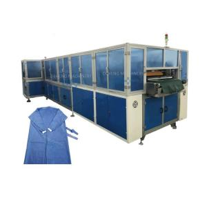Wholesale Automatic Disposable Non Woven Surgical Apron Protective Clothing Making Machine from china suppliers