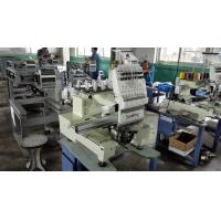China 15 Needle Home Single Head Embroidery Machine High Precision In Driving for sale