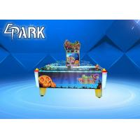 China 2020 hotest multi person electric air hockey table for arcade game center/family for sale