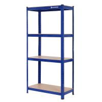 China Boltless Metal Storage Rack , Heavy Duty Shelving Rack 150x75x30 Cm Firm Stable for sale