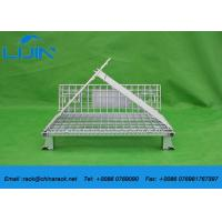 Best Steel Structure Warehouse Foldable Galvanized Industrial Storage Cage wholesale
