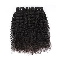 "Wholesale Natural Color Peruvian Body Wave Hair Bundles Curly Dancing And Soft 10"" To 30"" Stock from china suppliers"