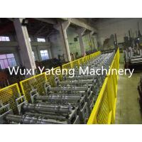 Best Galvanized Steel Floor Deck Roll Forming Machine 28 Roller Station Customised Size wholesale