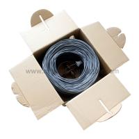 HDPE / LDPE Indoor Cat5E UTP Cable 4Pr 24Awg Cca Good Performance