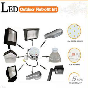 China Retrofit kit 40w-400w high bay/gas station/canopy/warehouse/shoebox led retrofit kit on sale