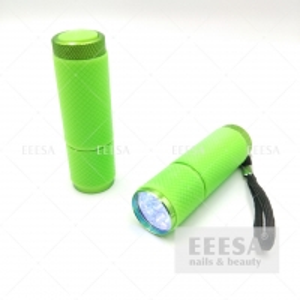Wholesale Green Mini Cordless Cute Dryer 9W Uv Gel Polish Led Nail Lamp Flashlight from china suppliers