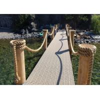 Wholesale 100Ft X 6mm Multipurpose 3-strand twist Rope code line Ideal For Garden Outdoor Use from china suppliers