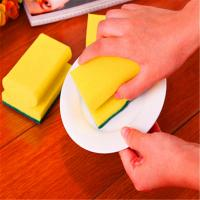 Wholesale household sponge scourer /good sponge scourer,sponge scouring pad,sponge scourer from china suppliers