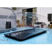 Wholesale Durable Clear Advertising Inflatable Tent Bubble Blow Up Car Cover from china suppliers