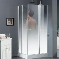 Buy cheap China high quality safety tempered glass shower door supplier from wholesalers